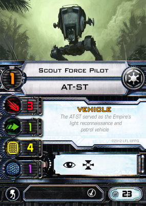 AT-ST - Scout Force Pilot