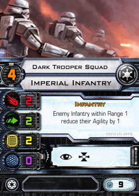 Imperial Infantry - Dark Trooper Squad